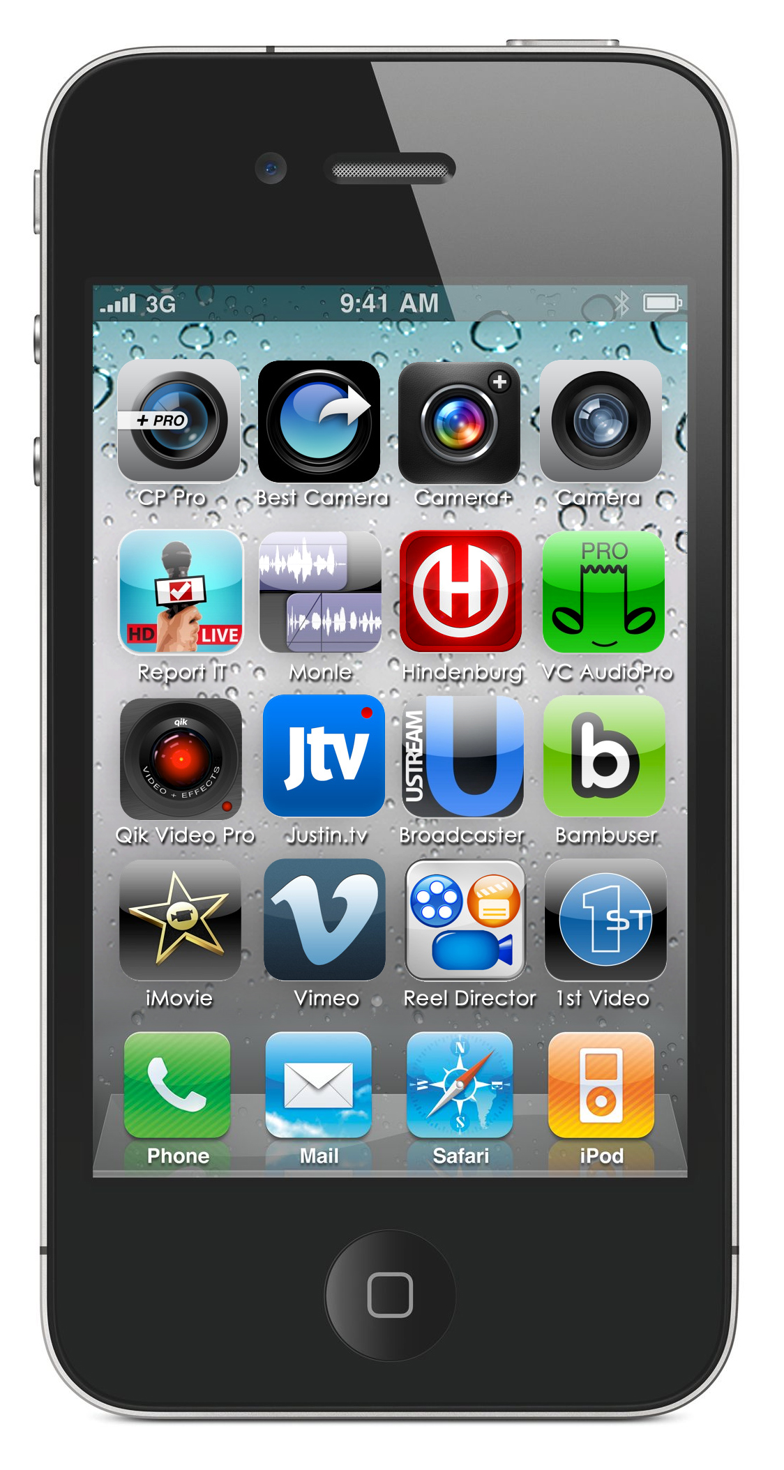 16 must have iphone apps for broadcasting glen mulcahy 39 s mobile journalism blog. Black Bedroom Furniture Sets. Home Design Ideas