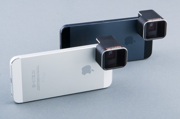 1.33x Anamorphic Adapter Lens for iPhone 5/5S via @moondoglabs