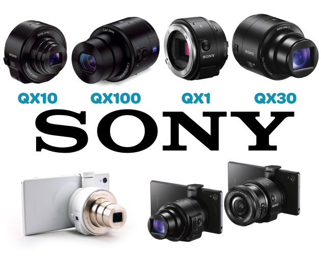 Sony-QX-range
